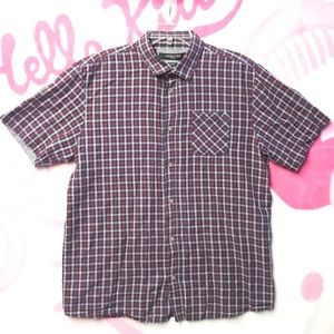 Other - 19Ninety One Plaid Checkered Shirt Size XL Red